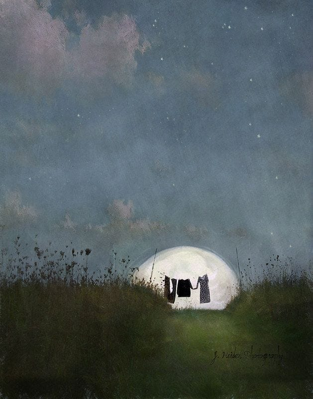 Moonstruck in 2020 | Modern landscape painting, Landscape art, Fine art  photographs