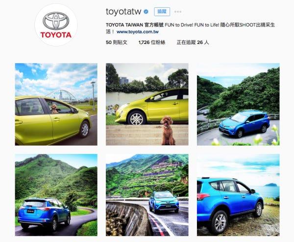 台灣Toyota。