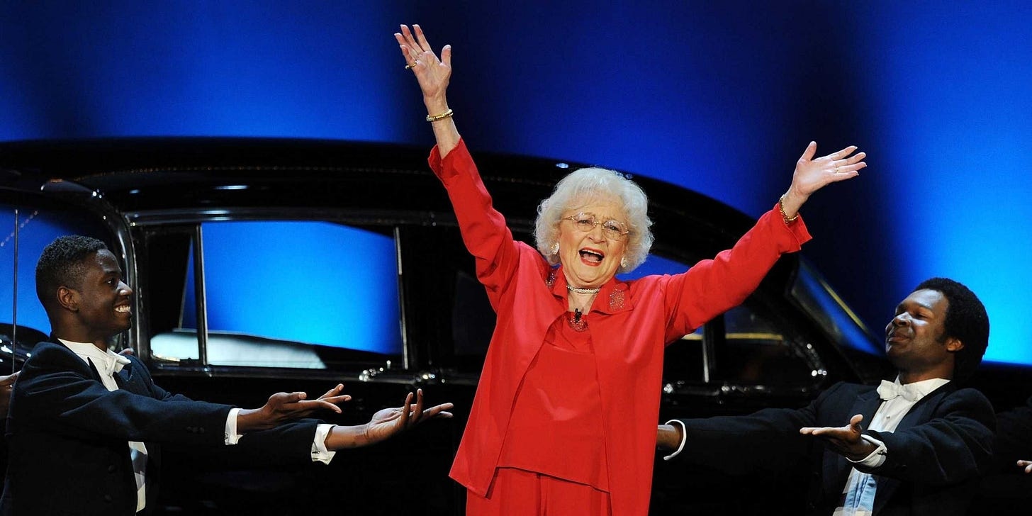 Love Betty a class act! | Betty white, Behind the screen, Saying goodbye