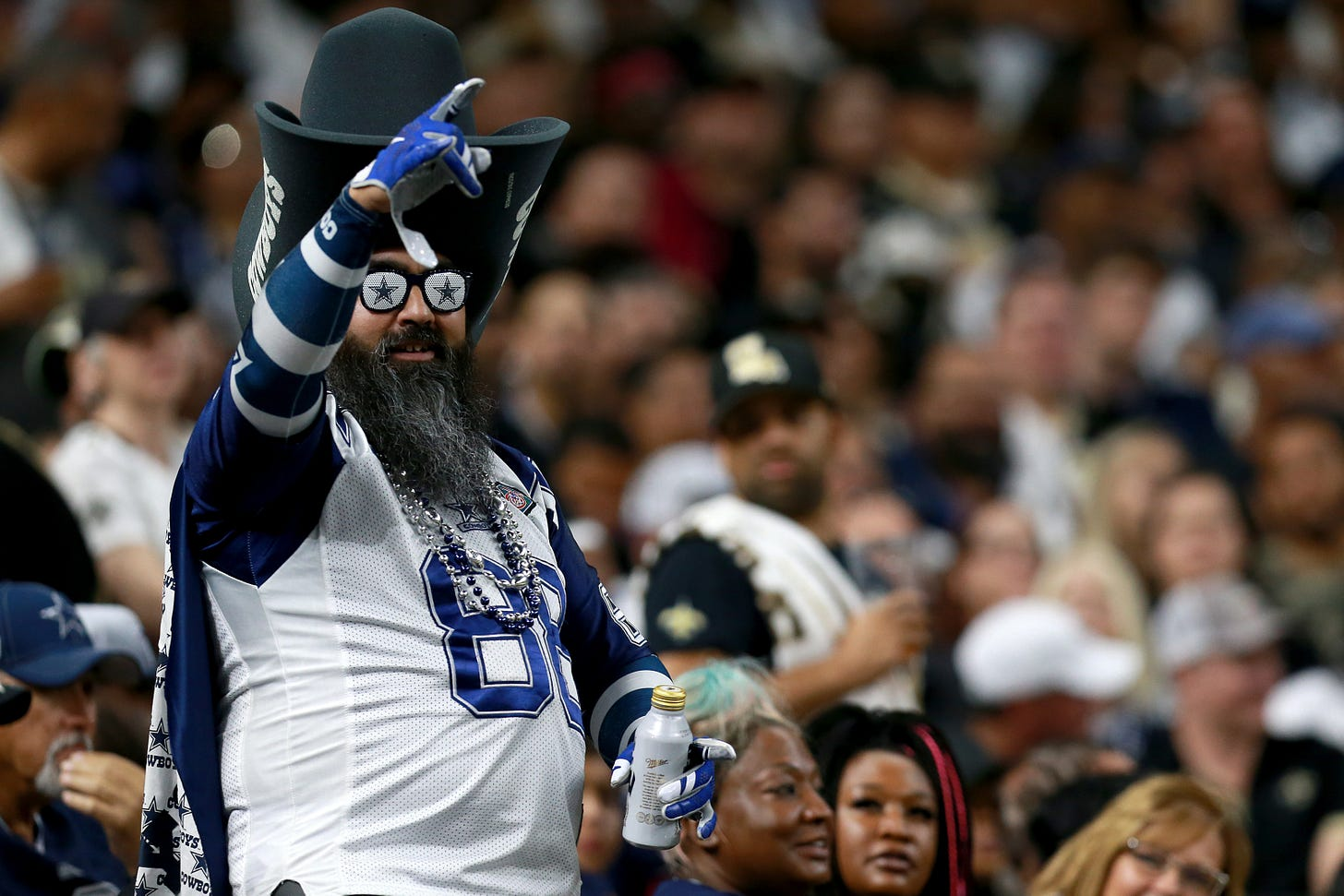 Dallas Cowboys fan could be 2019 FanSided Sports Fan of the Year