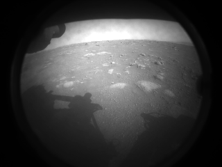 surface of Mars from Perseverance