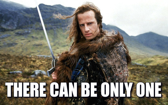 Highlander: There can be only one
