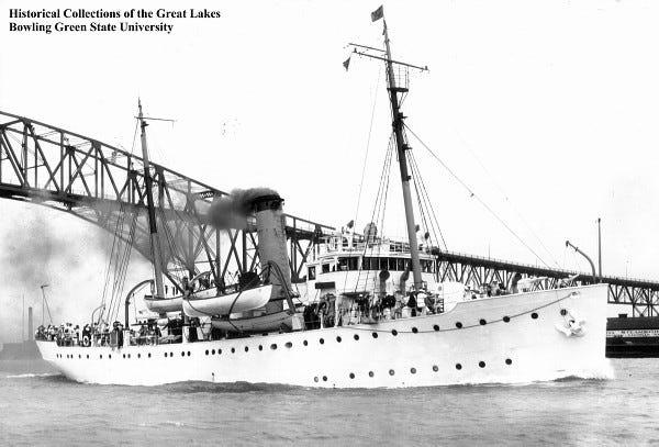 Photograph of a Coast Guard ship.