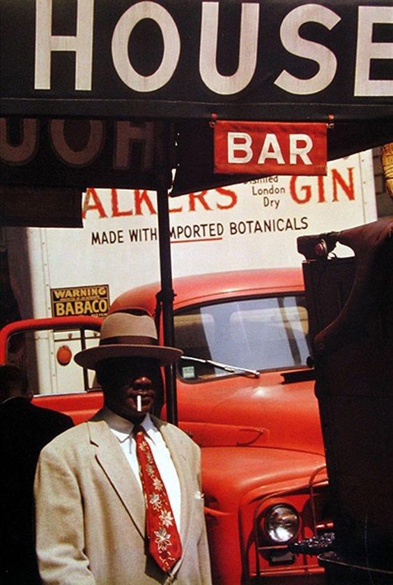 Harlem, 1960 - Saul Leiter
