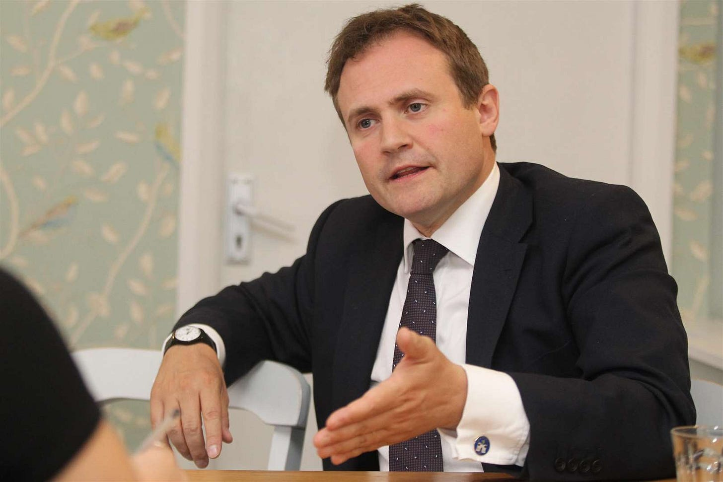 Kent MP Tom Tugendhat says he is being chased for money by an energy company