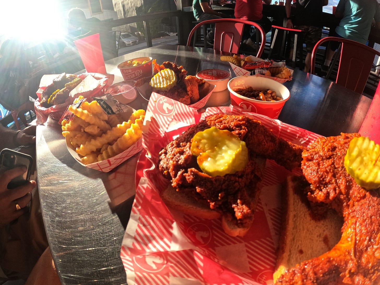 Hattie B's Fried Chicken — Oh Yeah baby!!