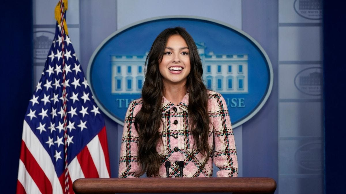 Olivia Rodrigo: Pop star visits White House to urge young people to get  vaccinated against Covid-19 - CNNPolitics