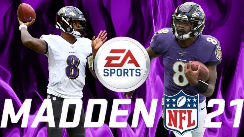Lamar Jackson reacts to Madden 21 rating: 'I wish it was better' | RSN