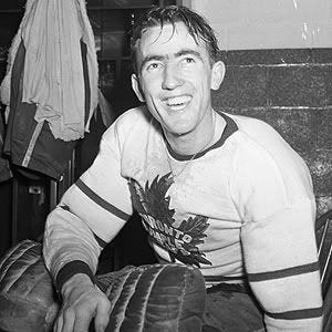 Third String Goalie: 1944-45 Toronto Maple Leafs Frank McCool Jersey