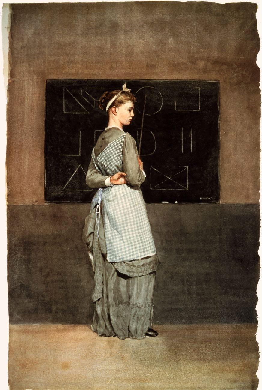File:Blackboard by Winslow Homer, 1877.png - Wikimedia Commons