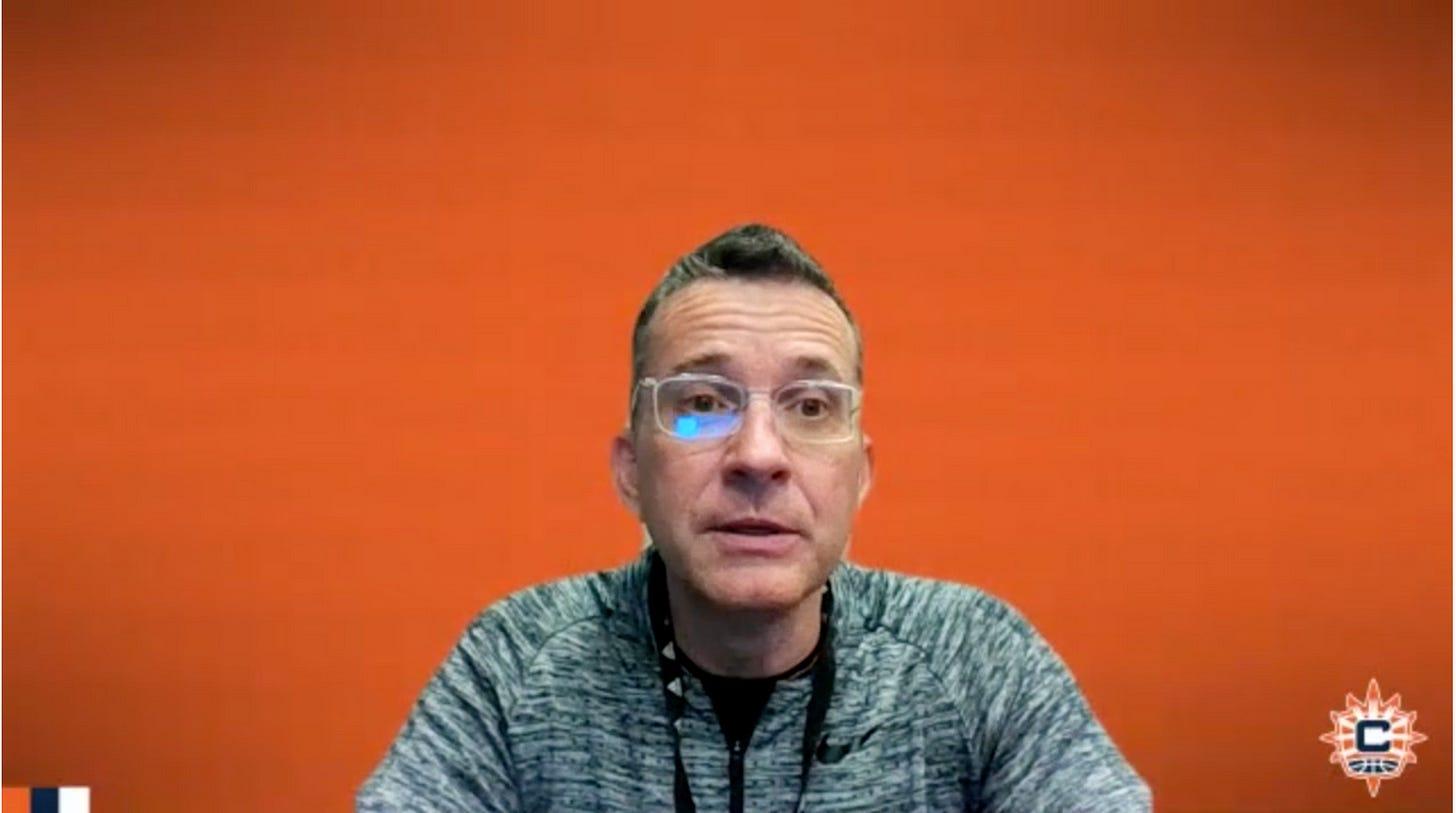Curt Miller. (WNBA Content Network screenshot)