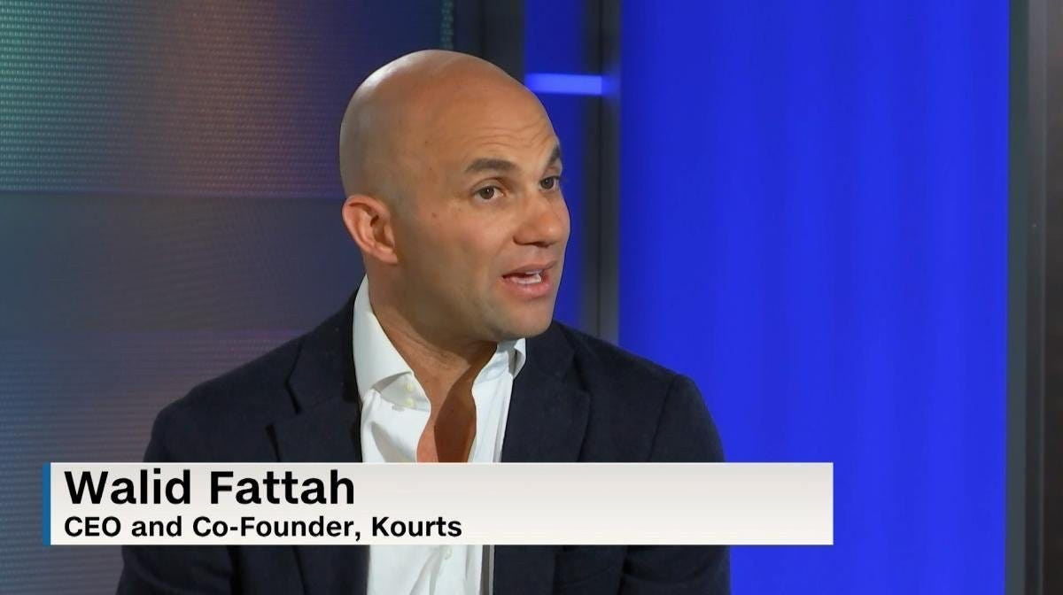 🔥Upside Chat: Walid Fattah, Kourts CEO