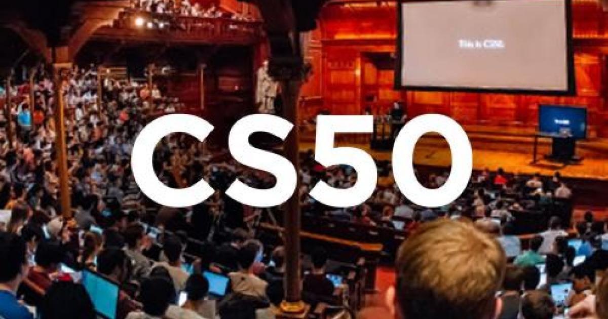 CS50: Introduction to Computer Science | Harvard University