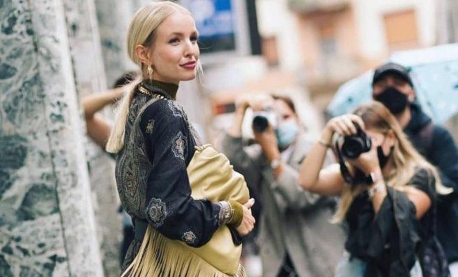 Best of Milan Fashion Week Spring 2021 Street Style #MFW