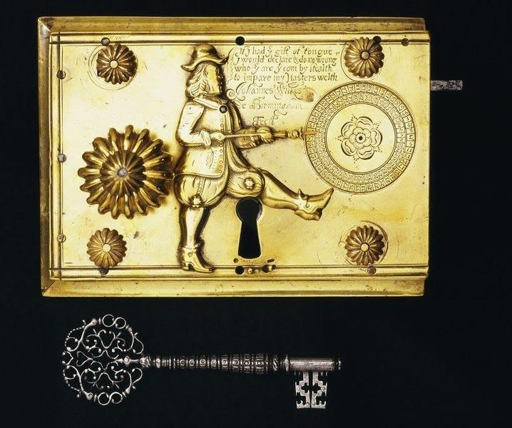 John Wilkes' 1680 Detector Lock.