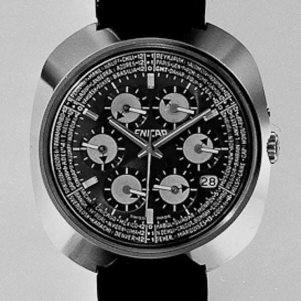 Exploring the Enicar Sherpa World Time 'Kaleidoscope' | Time for a Change