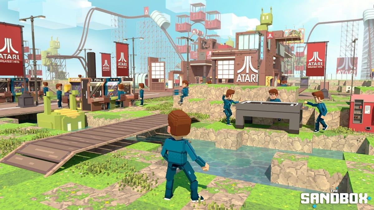 The Sandbox blockchain-based world will feature virtual Atari theme park |  VentureBeat