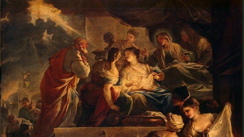 Image result for nativity john baptist art
