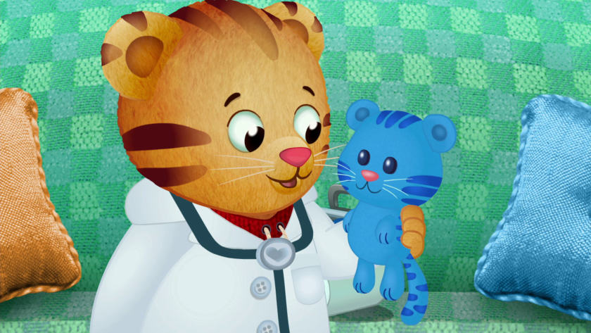 """Daniel Tiger's Neighborhood"" is one of the children's programs addressing the pandemic."