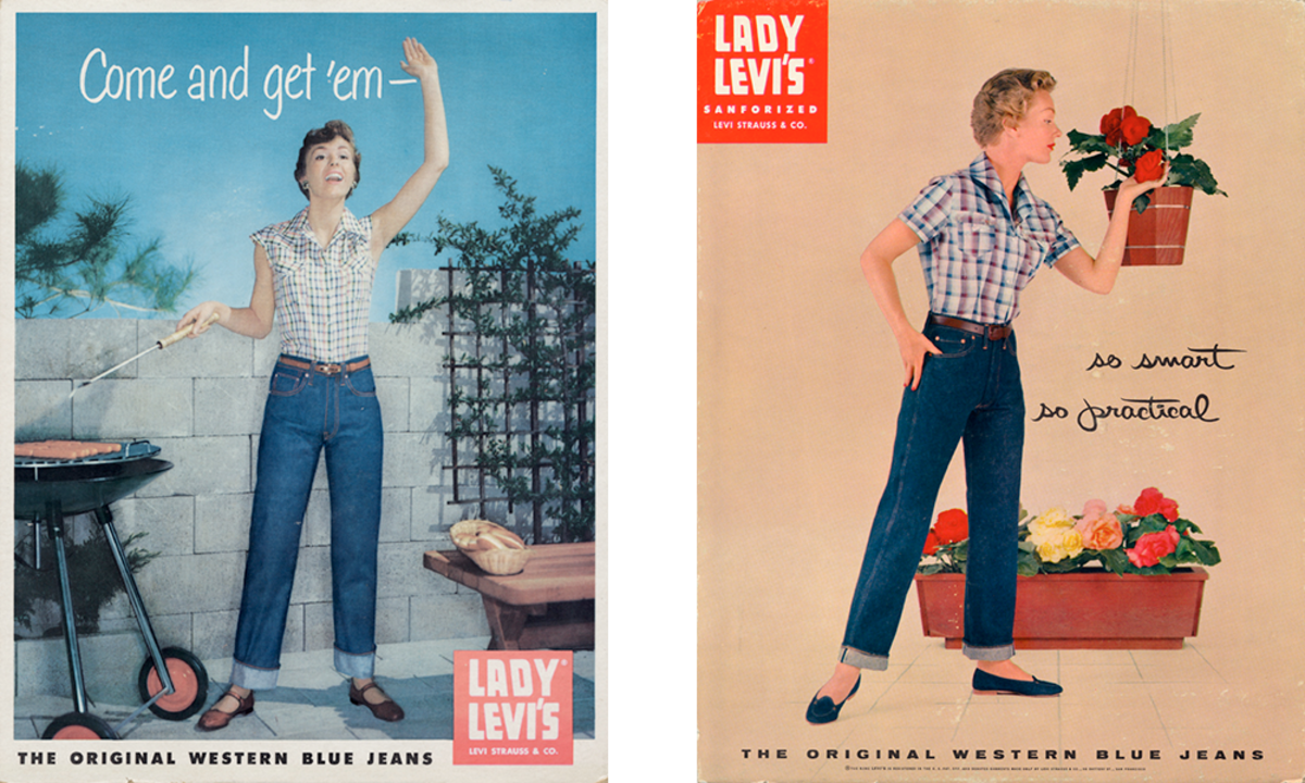 Advertising images from the 1950s,courtesy of Levi's®