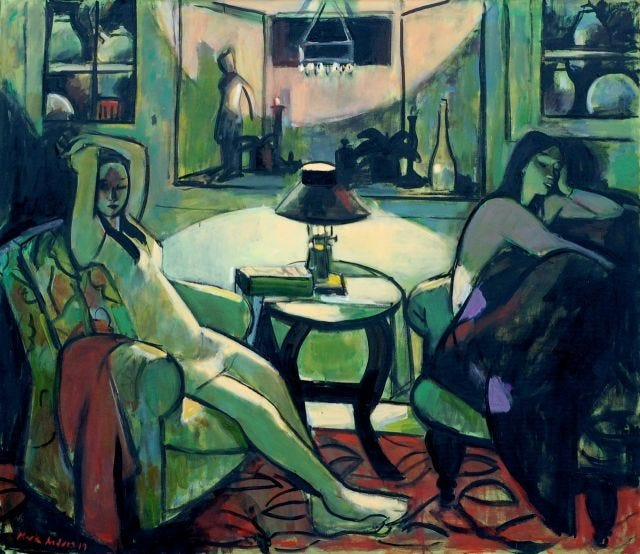 Mark Andres - Two Women