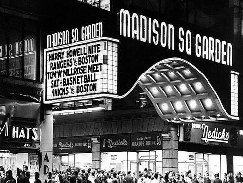 Madison Square Garden Facts & History | MSG | Official Site