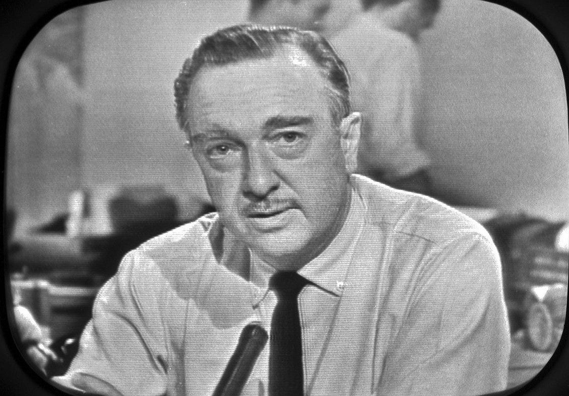 HISTORY's Moment in Media: Walter Cronkite Was the Most Trusted Man in News  | MediaVillage