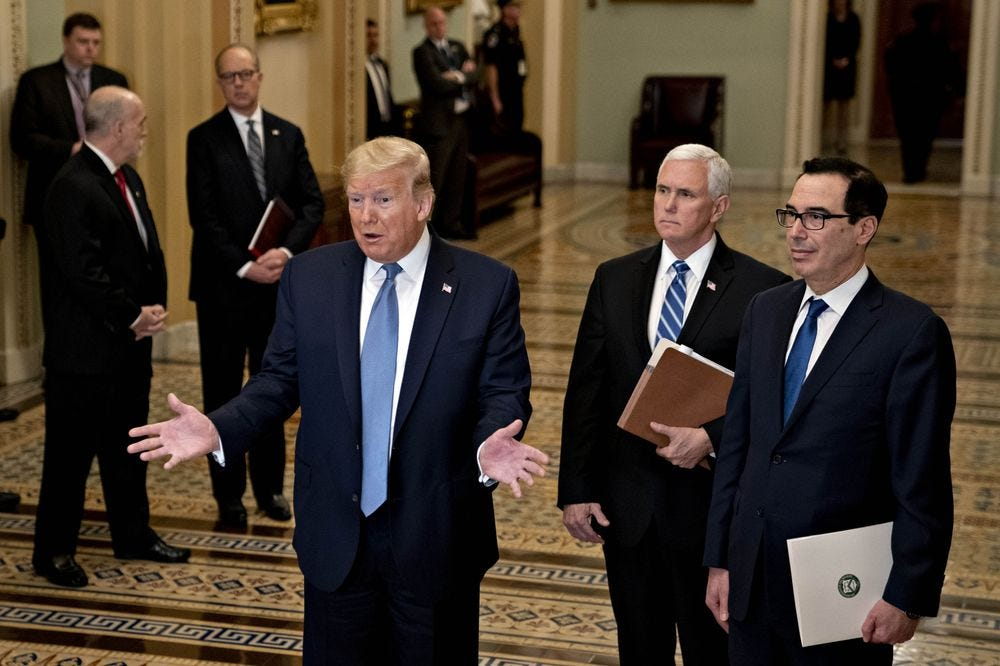Trump Payroll Tax Cut Would Do Little to Ease Fallout From Virus ...