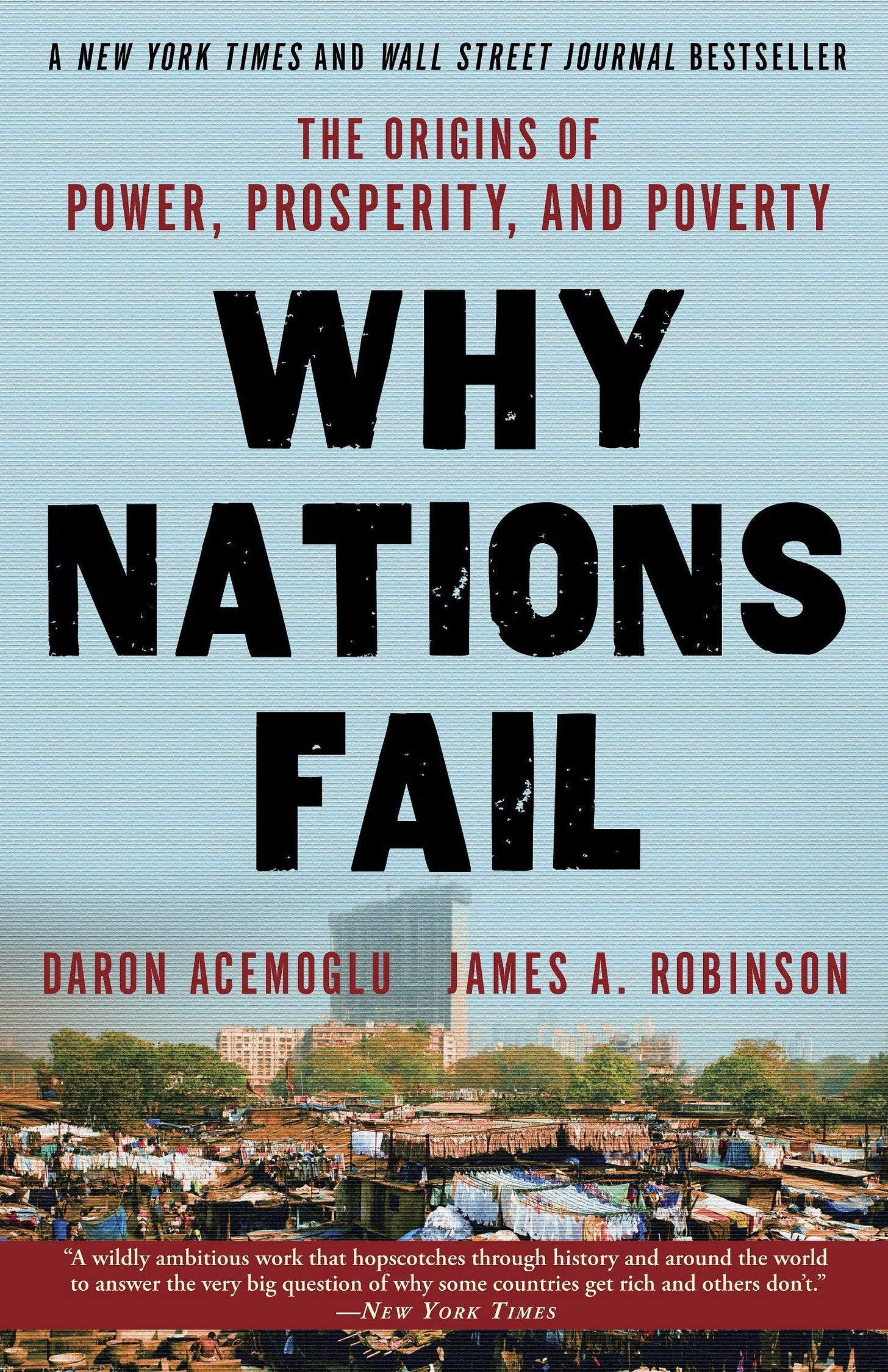Why Nations Fail: The Origins of Power, Prosperity, and Poverty ...