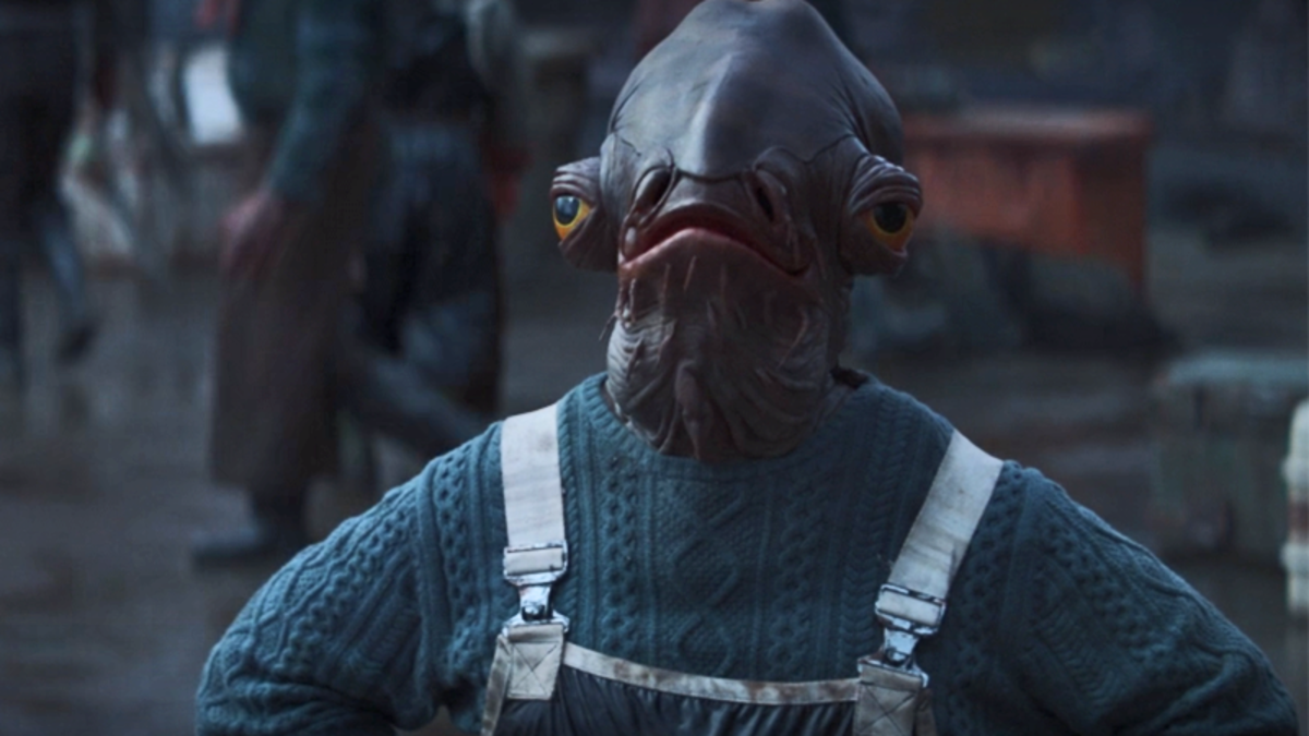 The Mandalorian's Mon Calamari in a Sweater Is My Normcore Hero