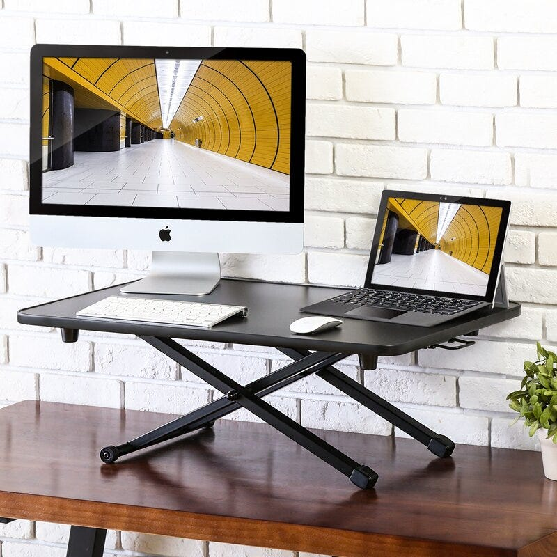 Piotrowski Height Adjustable Standing Desk Converter
