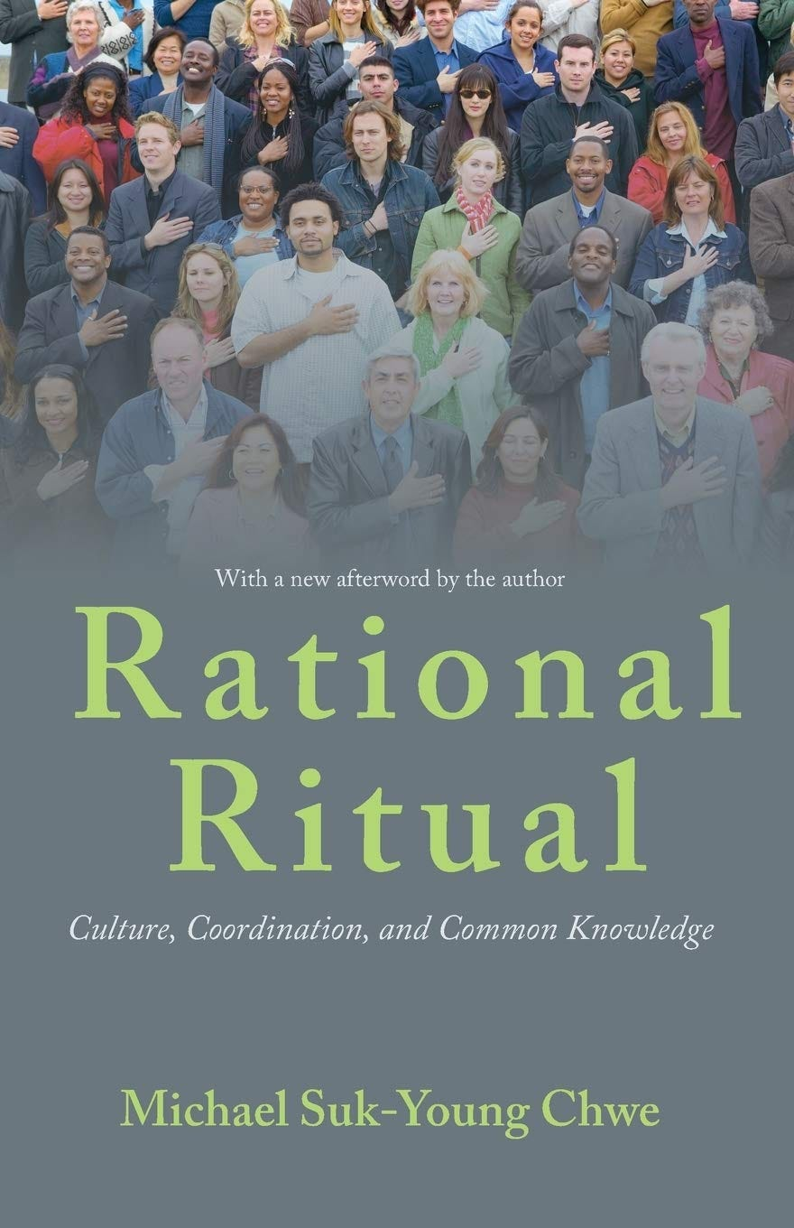 Rational Ritual: Culture, Coordination, and Common Knowledge: Amazon.co.uk:  Michael Suk-Young Chwe: 9780691158280: Books