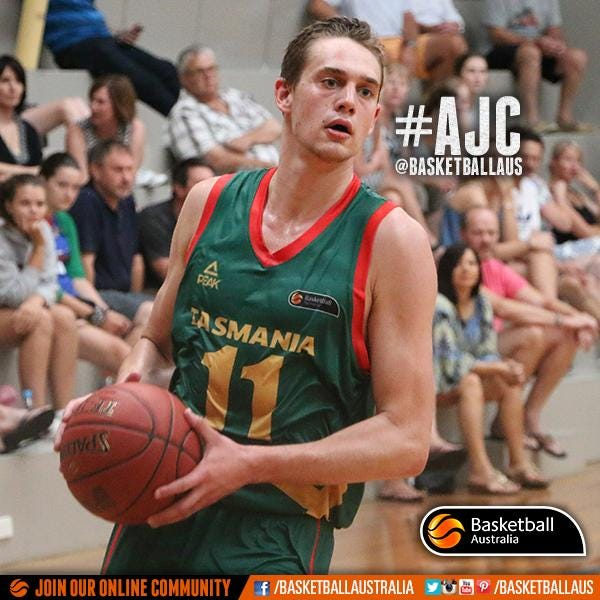 Kyle Clark | Photo credit: Basketball Australia/Kangaroo Photos