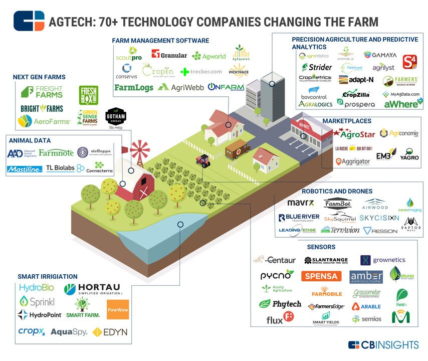 Cultivating Ag Tech: 5 Trends Shaping The Future of Agriculture