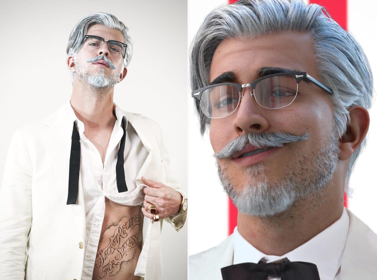 KFC's New Colonel Sanders Is a Virtual Social Media Influencer | MyRecipes