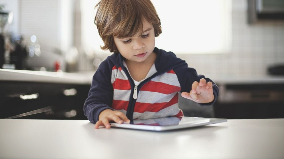 Why You Should Give Your Kid an iPad for Christmas (It Isn't What You  Think) - ABC News