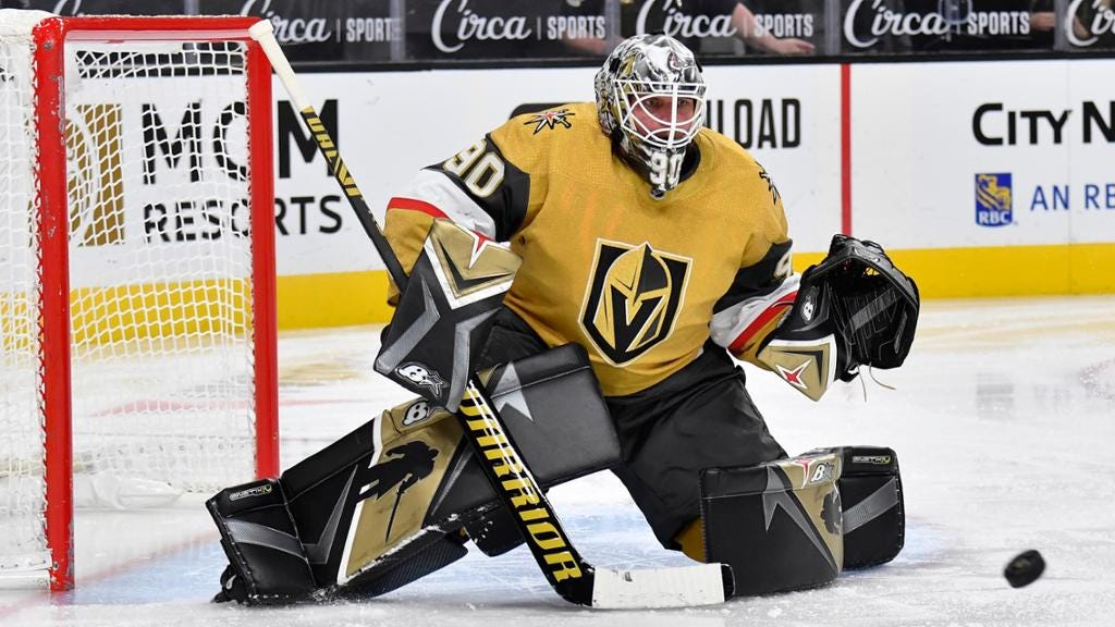 Lehner returns to Golden Knights, reveals he had concussion
