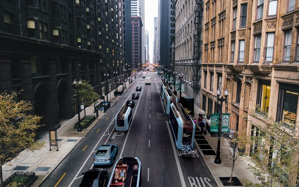 Architecture Firm SOM: AVs will Change Urban Environments