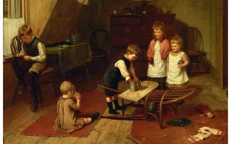 First Wednesdays | Various Useless and Pleasing Things: Crafty Children in the Nineteenth Century