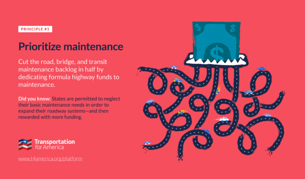Three principles for transportation investment.