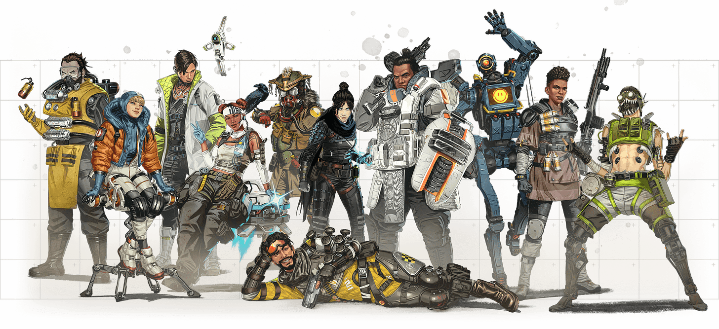 Apex Legends Leak Reveals All Upcoming Legends up to ...