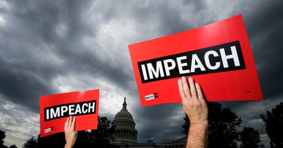 Image result for impeachment inquiry poll