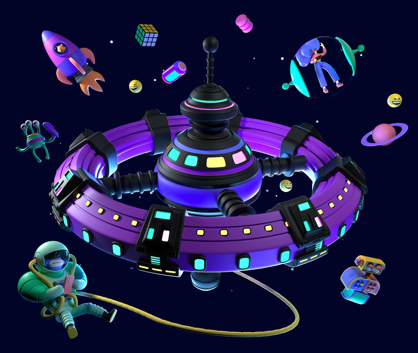 Polywork Spacestation