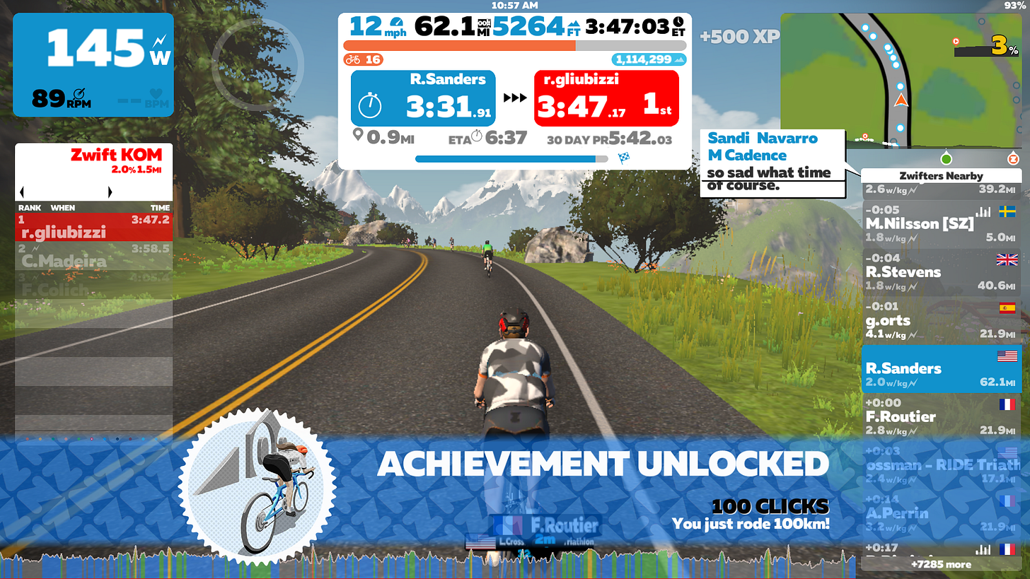 Leveling up Quickly in Zwift. Tips and Tricks to Level up fast in the…   by  Robert Sanders   Roadrunner Robert   Medium