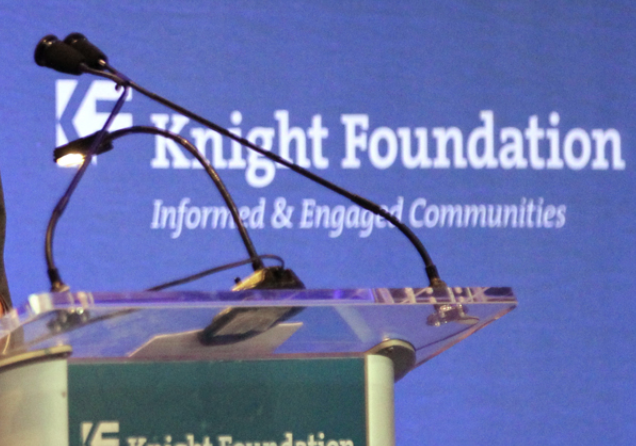 A photo from the 2013 Knight Foundation's Medial Learning Seminar.
