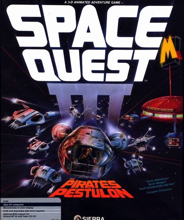 Space Quest III: The Pirates of Pestulon (1989) - MobyGames