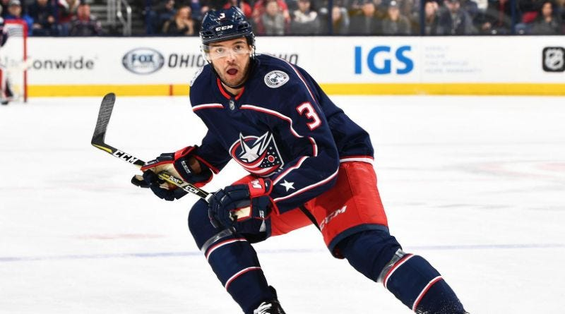 Seth Jones Is Looking for a Playoff Series Win, a Game Against His ...