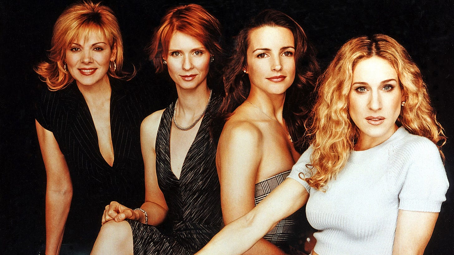 E! Is Airing Every Episode of 'Sex and the City' for the Show's 20th  Anniversary   Glamour