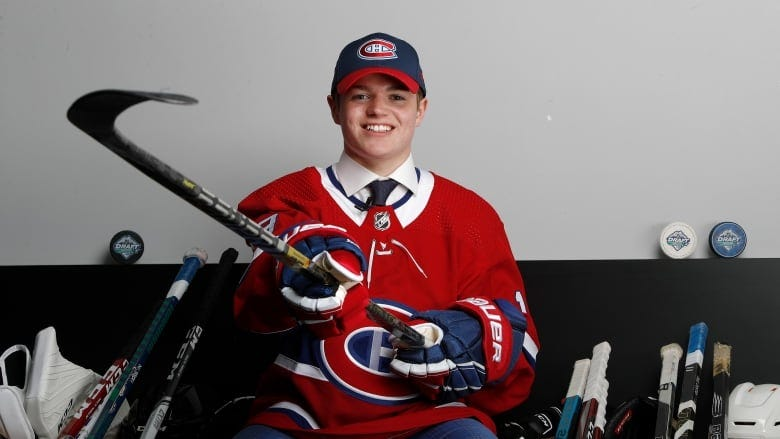 Canadiens sign top prospect Cole Caufield to entry-level contract   CBC  Sports