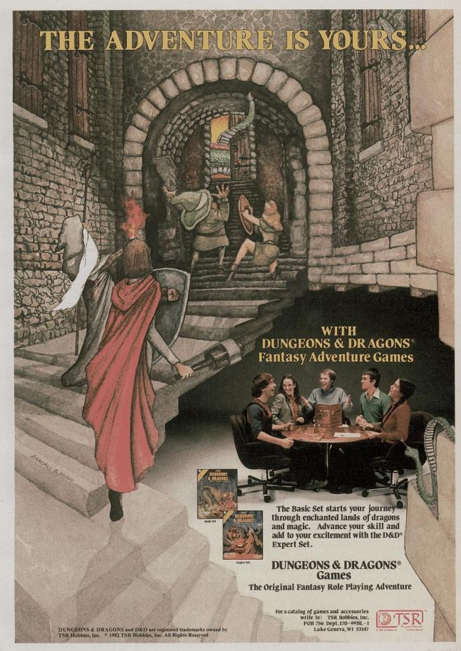 Retrospace: Dungeons & Dragons #3: The Ads